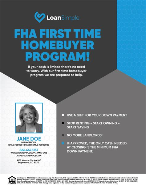fha time buyer flyers