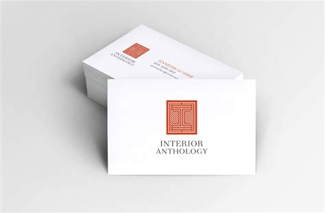 interior design business cards logo identity design for interior designer nashville