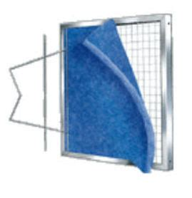 air filter frame material filter material for permanent pad holding frames metal