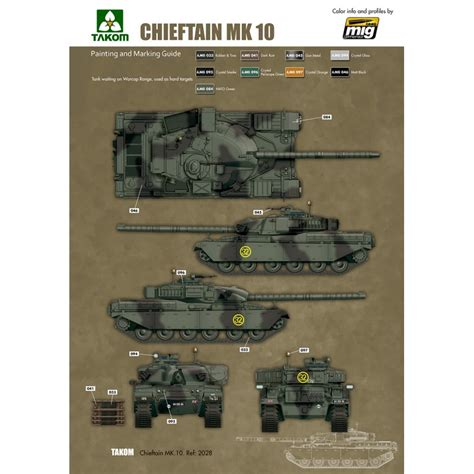 1 35 battle tank chieftain mk 10 ammo by
