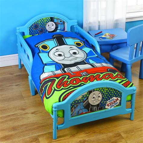 Thomas The Tank Engine Steam Toddler Bed Next Day Delivery Thomas The Tank Engine
