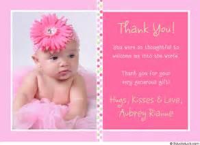 baby polka dot photo thank you card jpg photo by conniecalamba photobucket