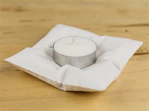 Concrete Pillow by Make A Concrete Pillow Style Tea Light Holder