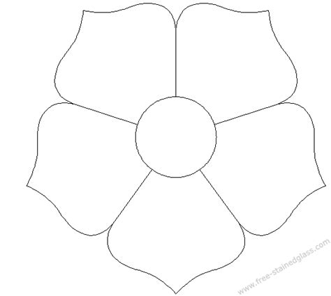 free coloring pages of flower patterns