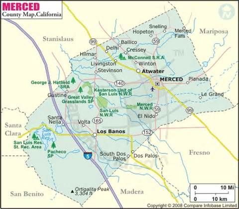 merced california map 2nd highest obese county in california merced county