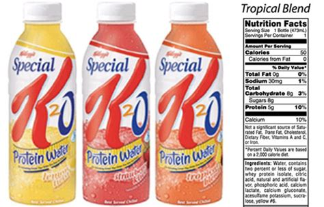 protein water mix special k20 protein water popsugar fitness