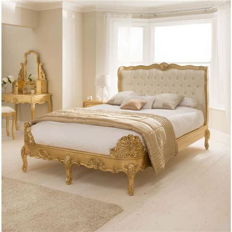gold bedroom furniture gold leaf bedroom furniture italian tufted gold leaf