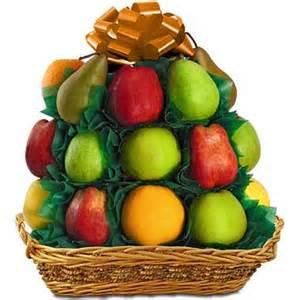 fruit baskets delivered fruit basket tower a mountain of fresh fruit