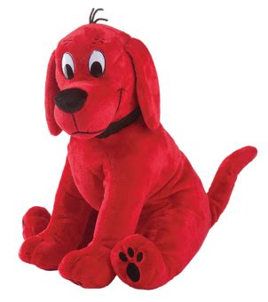 clifford the big toys large sitting clifford by