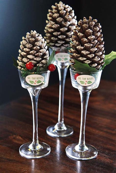 pine cone table decorations most beautiful table decorations ideas all