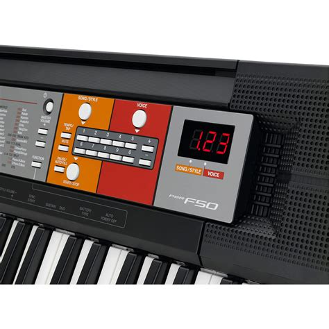 yamaha psr f50 portable keyboard at gear4music