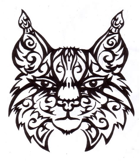 tribal tattoo designs for girls lynx images designs