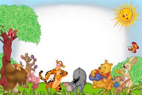 imagenes de winnie pooh en alta resolucion marcos y bordes para fotografias marcos para fotos de