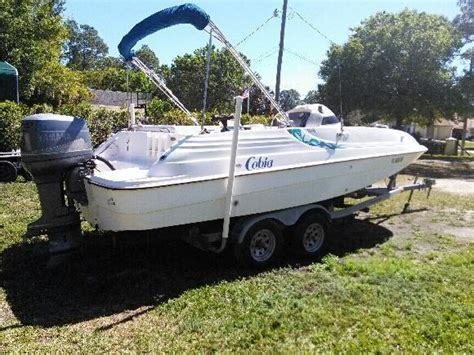 deck boats for sale ebay cobia 206 deck boat 1999 for sale for 7 600 boats