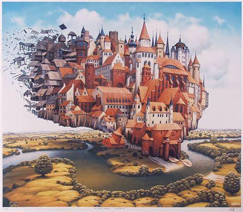 libro surrealism world of art loading cities jacek yerka wikiart org