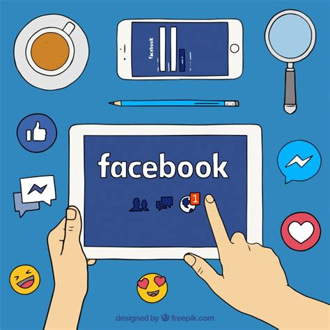 facebook layout vector free download background with facebook and other elements vector free