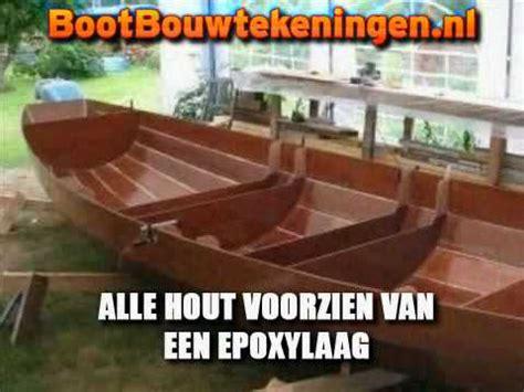 zelf roeiboot bouwen een houten boot bouwen hoe doe je dat youtube