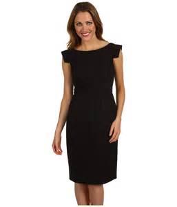 Galerry sheath dress black