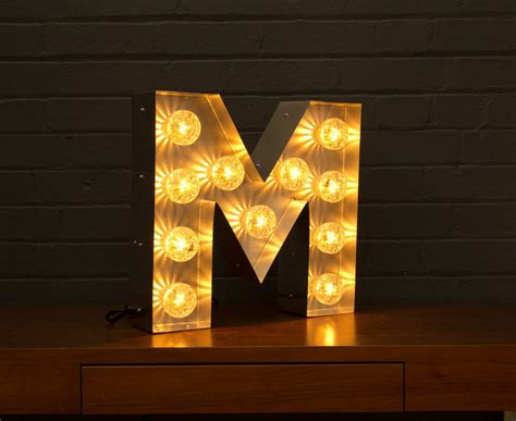 light up letters light up marquee bulb letters m by goodwin goodwin