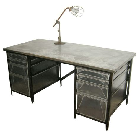 industrial style file desk office