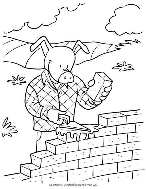 little pig coloring page three little pigs coloring pages the three little pigs story