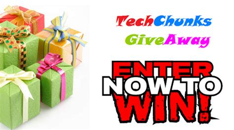 Cool Giveaway Prizes - techchunks com contest win cool prizes worth over 2300
