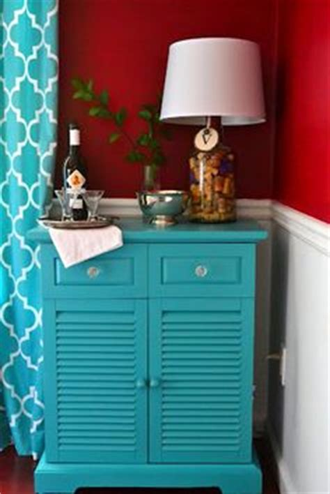 trash to treasure table repurposed in the dining room paint color behr teal zeal