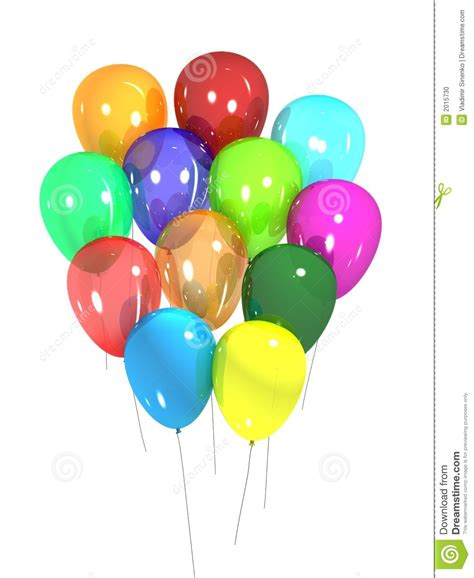 Party balloons stock illustration illustration of celebration 2015730