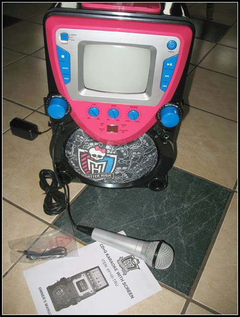 Avc Travel Giveaway - monster high cd g karaoke machine with screen review central minnesota mom