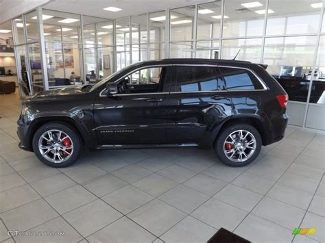 srt8 jeep black brilliant black crystal pearl 2012 jeep grand cherokee