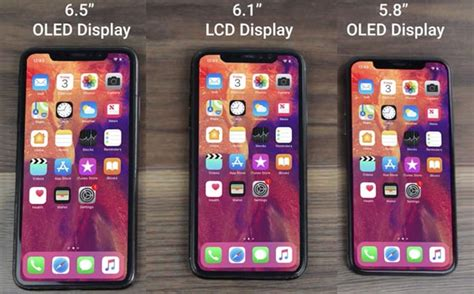 iphone xs xs plus 2018 comparison