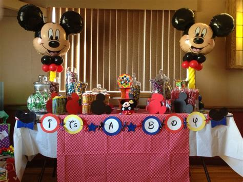 Mickey Mouse Baby Shower Themes by Mickey Mouse Theme Baby Shower Hayley S Baby Shower