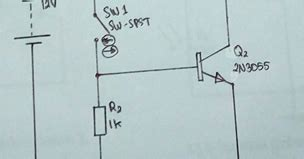 laporan percobaan transistor sebagai saklar laporan praktikum transistor sebagai saklar hajar fisika