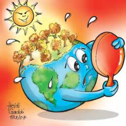 membuat poster kartun global warming but whose complaining a game of roles