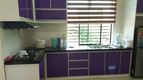 design dapur nuansa ungu kabinet dapur terus dari kilang kabinet dapur ungu di