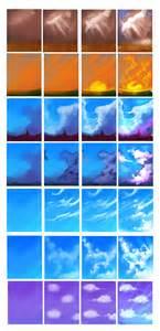 paint tool sai sky tutorial clouds tutorial by ryky on deviantart