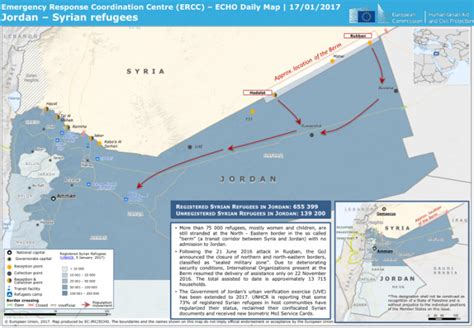 Syria Serut Daily 3 syrian refugees echo daily map 17 01 2017 reliefweb