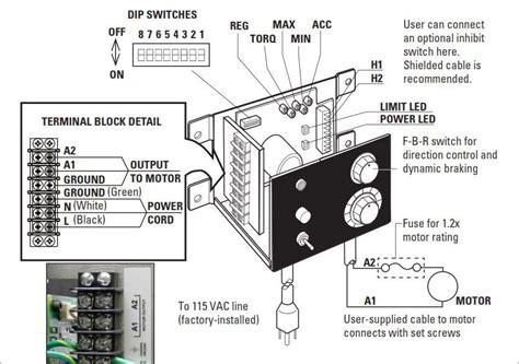 bodine electric motor wiring diagram new dc motor speed with dynamic braking bodine