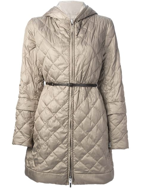 Azaria Maxmara max mara padded coat in lyst