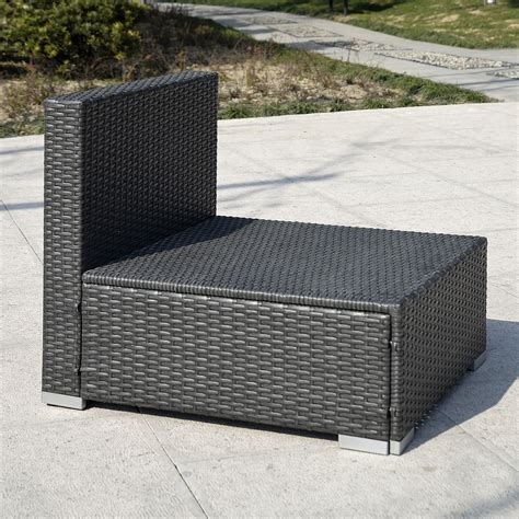 Black Wicker Furniture Outdoor Black Wicker Patio Furniture