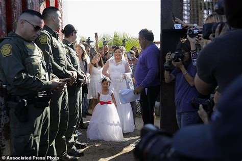 Border Patrol Background Check Groom In Cross Border Wedding Is A Smuggler This Is Money