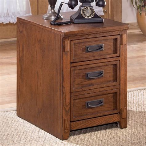 ashley furniture cross island 2 drawer file cabinet in