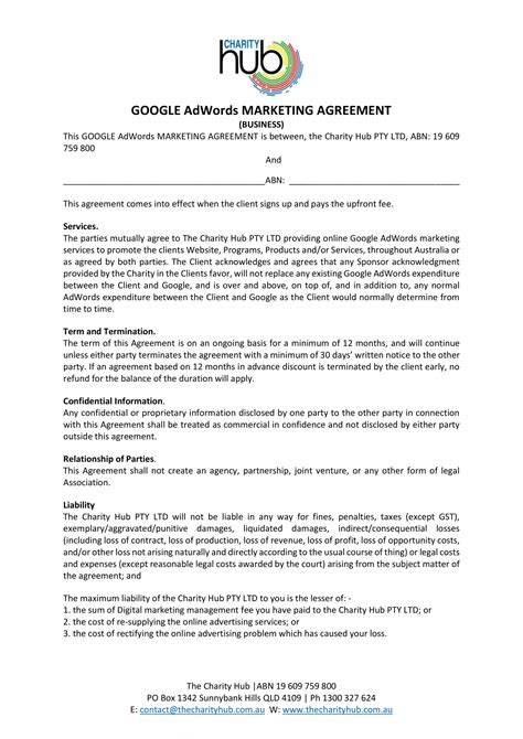 13 Marketing Agreement Templates And Exles Pdf Cooperative Marketing Agreement Template