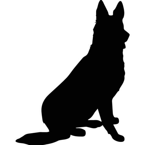Horse Wall Stickers Uk german shepherd silhouette wall sticker dog wall art