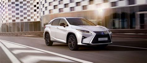 lexus crossover black lexus give the rx 450h crossover a styling edge with