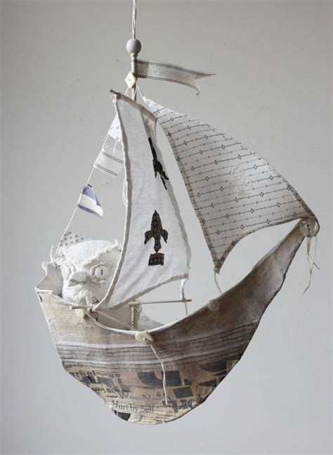 How To Make A Paper Mache Boat - paper mache boat template crafts