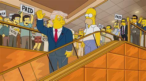 donald trump simpsons 191 los simpson predijeron la victoria de donald trump la