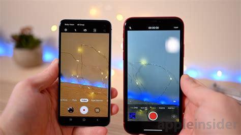 video quality showdown galaxy se  iphone xr