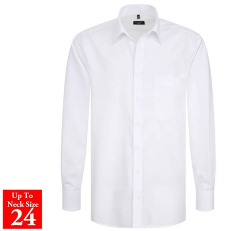 White Shirt Eterna Plain White Shirt
