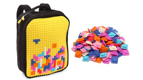 Decorate Your Home Online pixel art backpack lets you decorate it tetris style